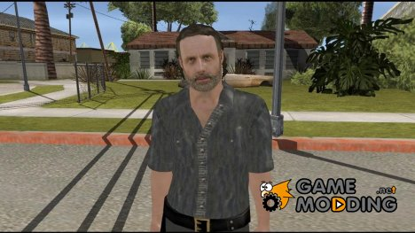 Rick Grimes from The Walking Dead для GTA San Andreas