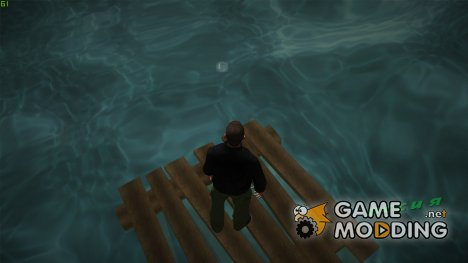 Плавать на плоту for GTA Vice City