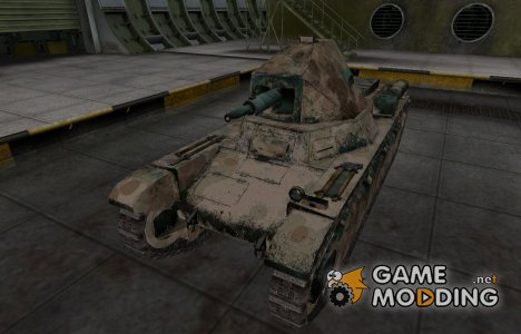 Французкий скин для AMX 38 для World of Tanks