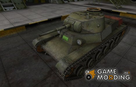 Зона пробития Т-50-2 for World of Tanks