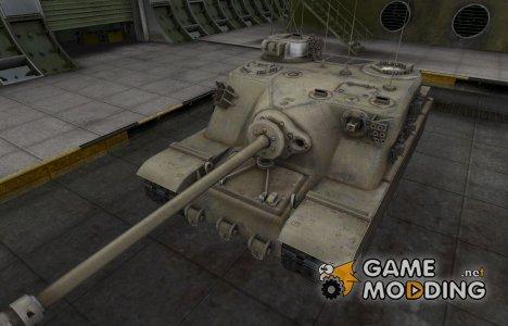 Зоны пробития контурные для Tortoise для World of Tanks