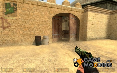 camoed deagle v2 for Counter-Strike Source