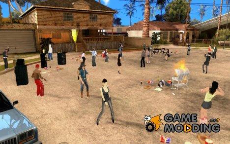 Проект Х на Grove Street for GTA San Andreas