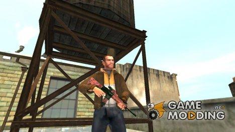 Автоматический карабин Colt M4A1 v.5 for GTA 4