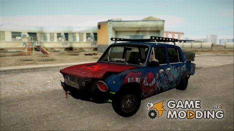 """ВАЗ 2101 """"Боевая Классика"""" for GTA San Andreas"""