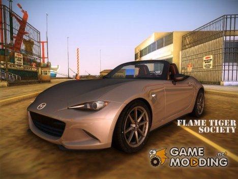 Mazda MX5 Roadster 2015 для GTA Vice City