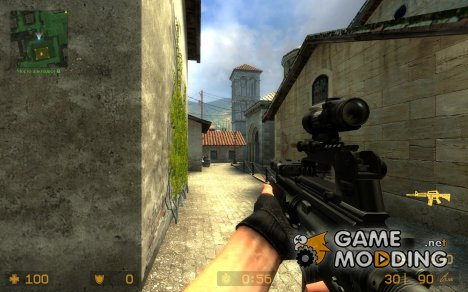 M4A1 Big Ass Gun для Counter-Strike Source
