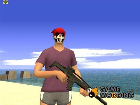 Skin GTA V Online в летней одежде v2 for GTA San Andreas