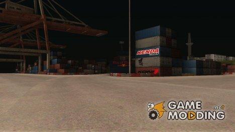 Большие Доки из NFS Undegraund в Криминальной России для GTA San Andreas
