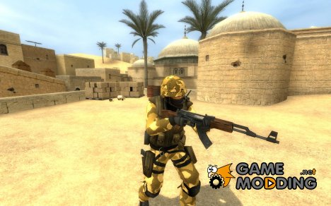 Desert Camo CT for Counter-Strike Source