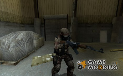 Desert Reskin For The CT_Urban for Counter-Strike Source