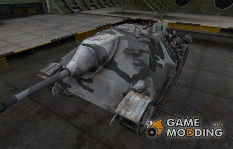 Шкурка для немецкого танка Hetzer for World of Tanks