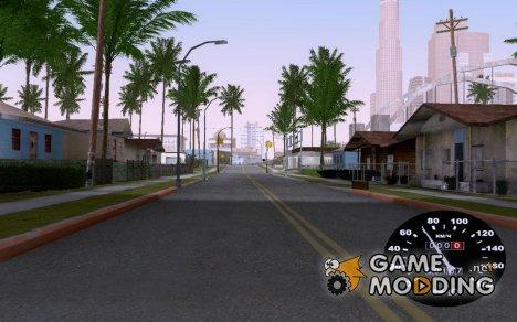 Спидометр ВАЗ 2105 для GTA San Andreas