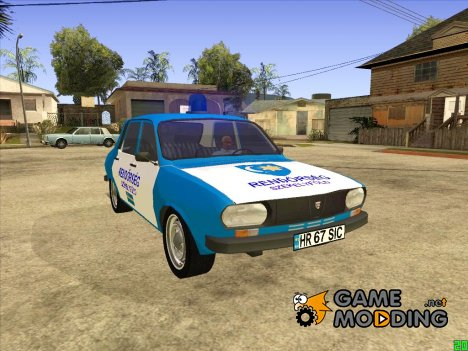 Dacia 1300 Hungary Police (1979) for GTA San Andreas