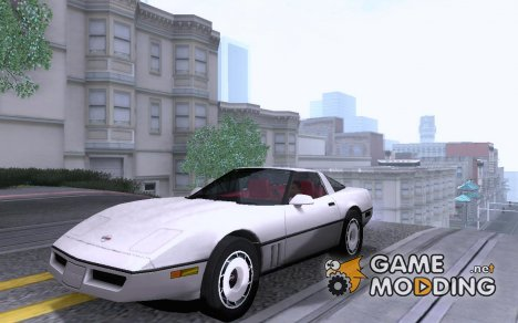 Chevrolet Corvette C4 1984 for GTA San Andreas