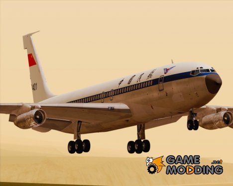 Boeing 707-300 Civil Aviation Administration of China - CAAC для GTA San Andreas