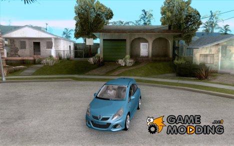 Vauxhall Corsa VXR для GTA San Andreas