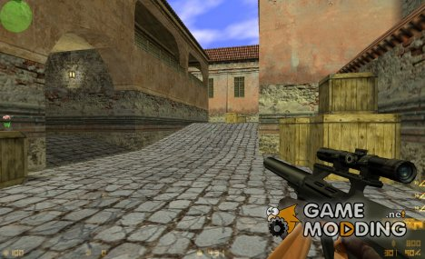 Silenced Aug for Counter-Strike 1.6