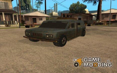 Машина из игры Alian City для GTA San Andreas