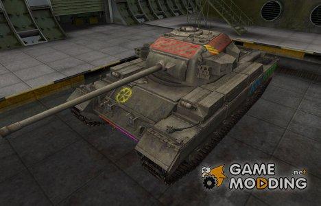 Качественные зоны пробития для Conqueror for World of Tanks
