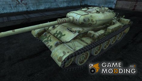 T-54 kamutator для World of Tanks