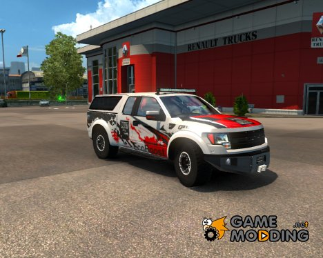 Ford F150 SVT Raptor v2.0 for Euro Truck Simulator 2