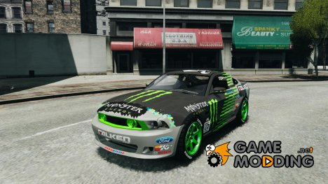 Ford Mustang Monster Energy 2012 for GTA 4