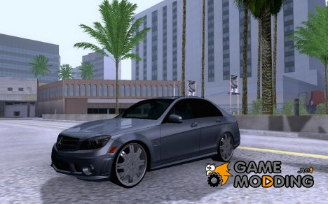 Mercedes-Benz C63 Dub for GTA San Andreas