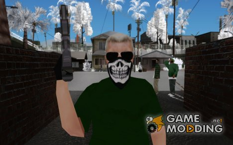Скин крутой бабушки для GTA San Andreas
