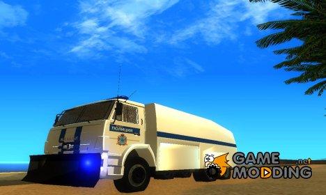 КамАЗ-65116 Полиция Водомёт для GTA San Andreas