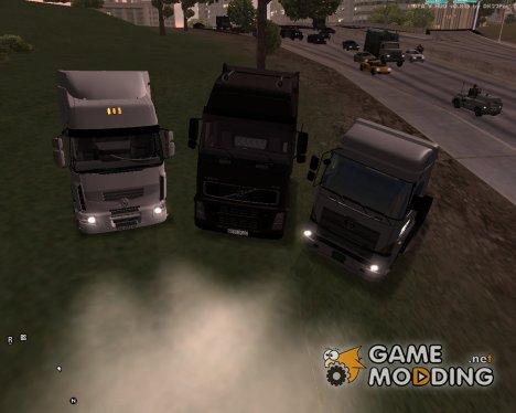 Пак дальнобойщика №4 для GTA San Andreas