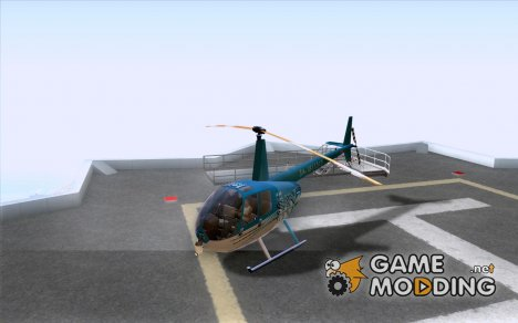 Robinson R44 Raven II NC 1.0 телевидение for GTA San Andreas