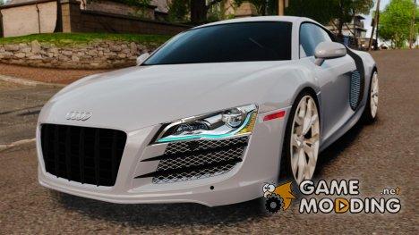 Audi R8 5.2 Stock 2012 [Final] для GTA 4