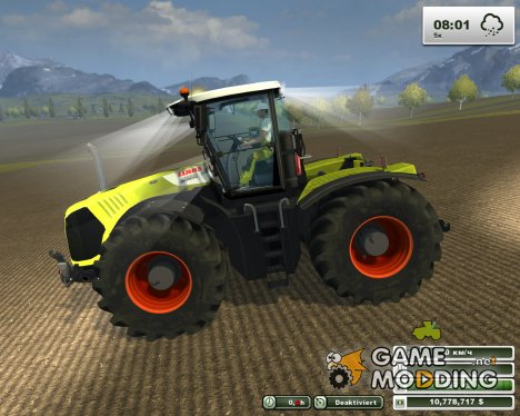 Claas Xerion 5000 Trac VC v5.0 for Farming Simulator 2013