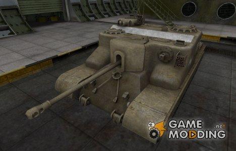 Зоны пробития контурные для AT 15 for World of Tanks