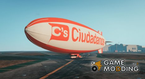 Ciudadanos Blimp for GTA 5