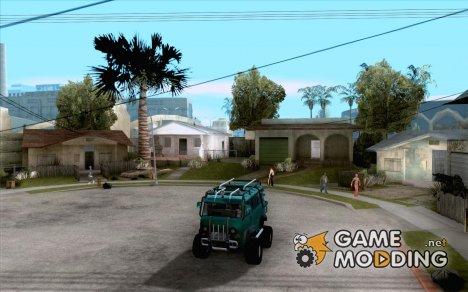 """УАЗ """"Буханка"""" hard off-road для GTA San Andreas"""