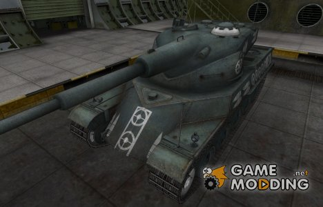 Зоны пробития контурные для AMX 50 120 for World of Tanks