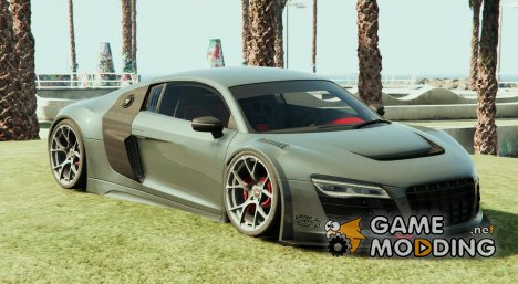 Audi R8 LMS Street Custom for GTA 5