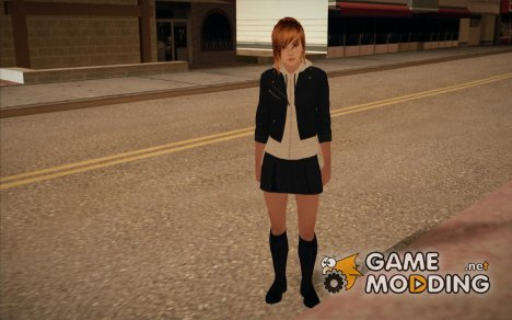 Modern Woman Skin 2 v2 for GTA San Andreas