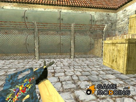 M4A1 S  Masterpiece for Counter-Strike 1.6