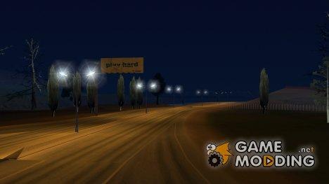 Уличные фонари с дневным светом для GTA San Andreas