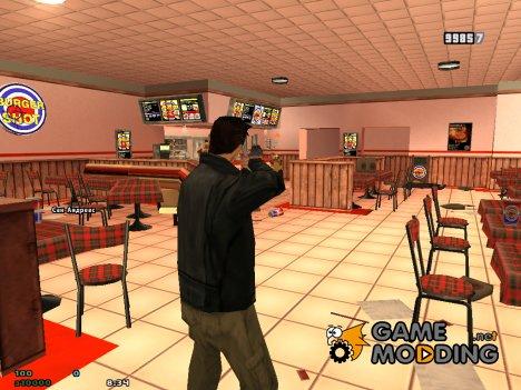 Приключения Клода для GTA San Andreas