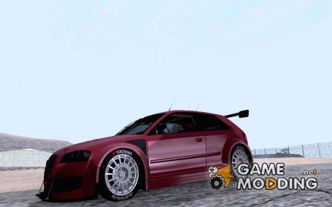 Audi S3 для дрифта для GTA San Andreas