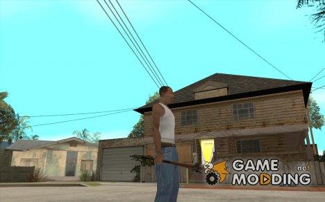 Бита с чёрной повязкой для GTA San Andreas