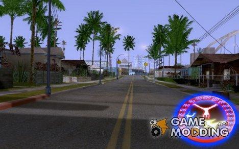 Spedometr PARKUR v.1 для GTA San Andreas
