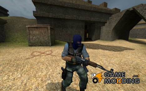 Blue Mask Phoenix for Counter-Strike Source