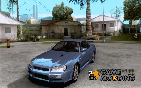 Nissan Skyline GTR R34 VSpecII for GTA San Andreas