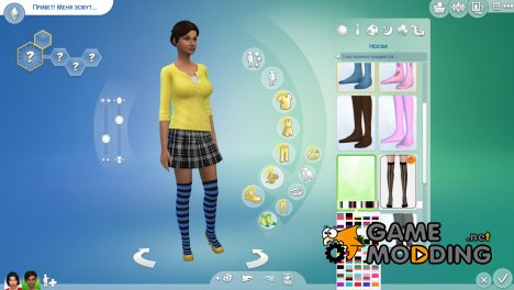 Чулки for Sims 4