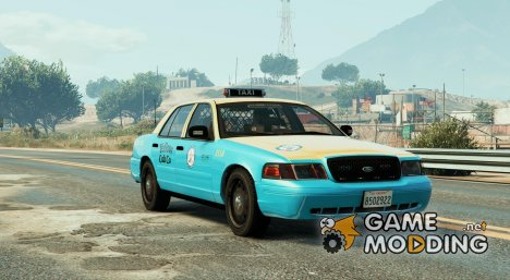 Undercover Ford CVPI  LA Taxi  for GTA 5